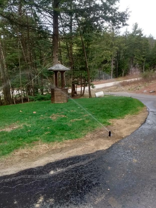Irrigation system Milford, NH