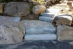 Granite Steps - After