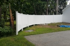 Fence Replacement - After