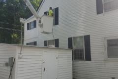 Pressure Washing Job
