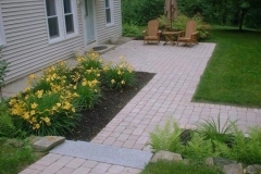 Patio, Walkway And Granite Steps Atkinson, NH